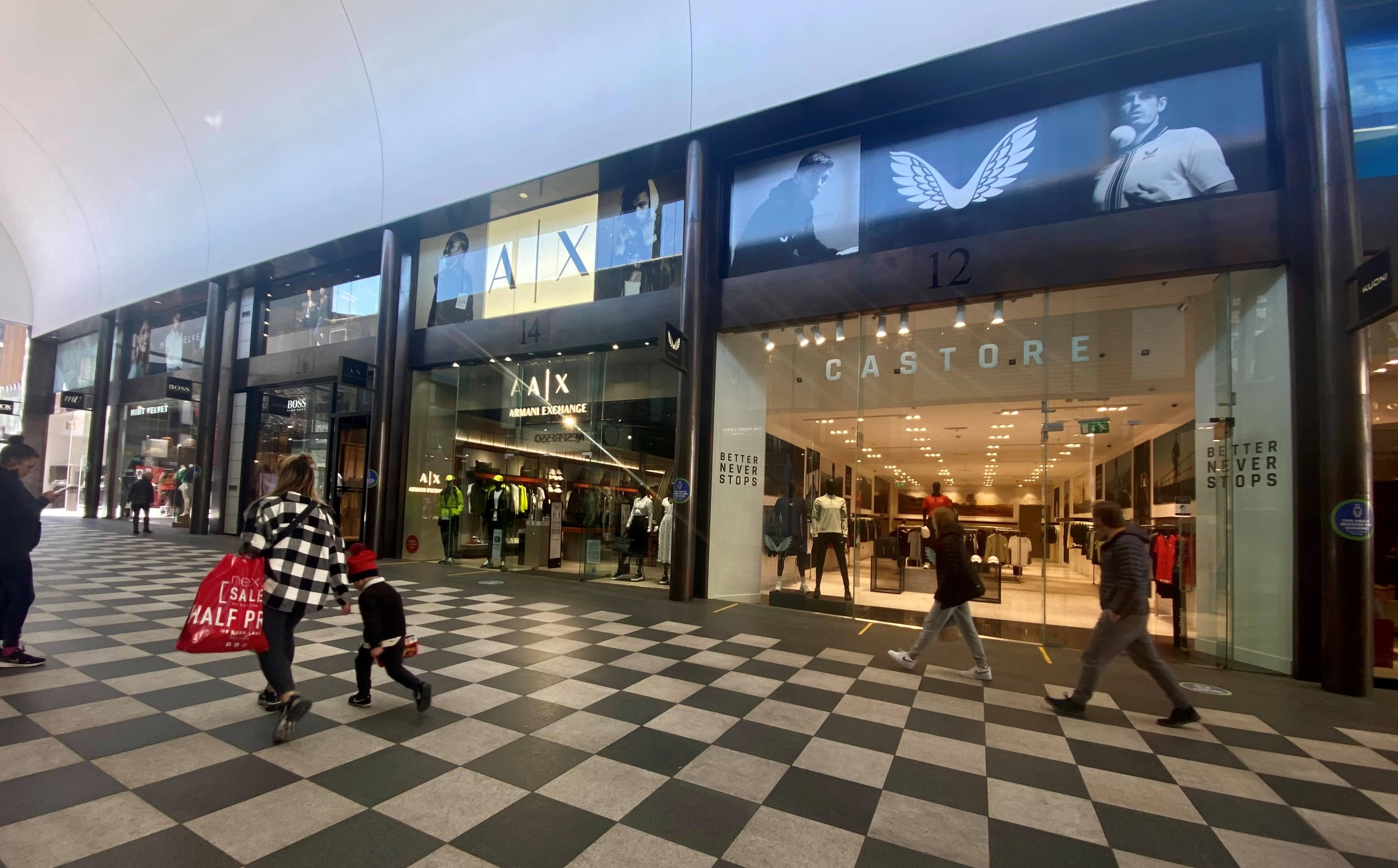 Castore opens upsized store at Liverpool One