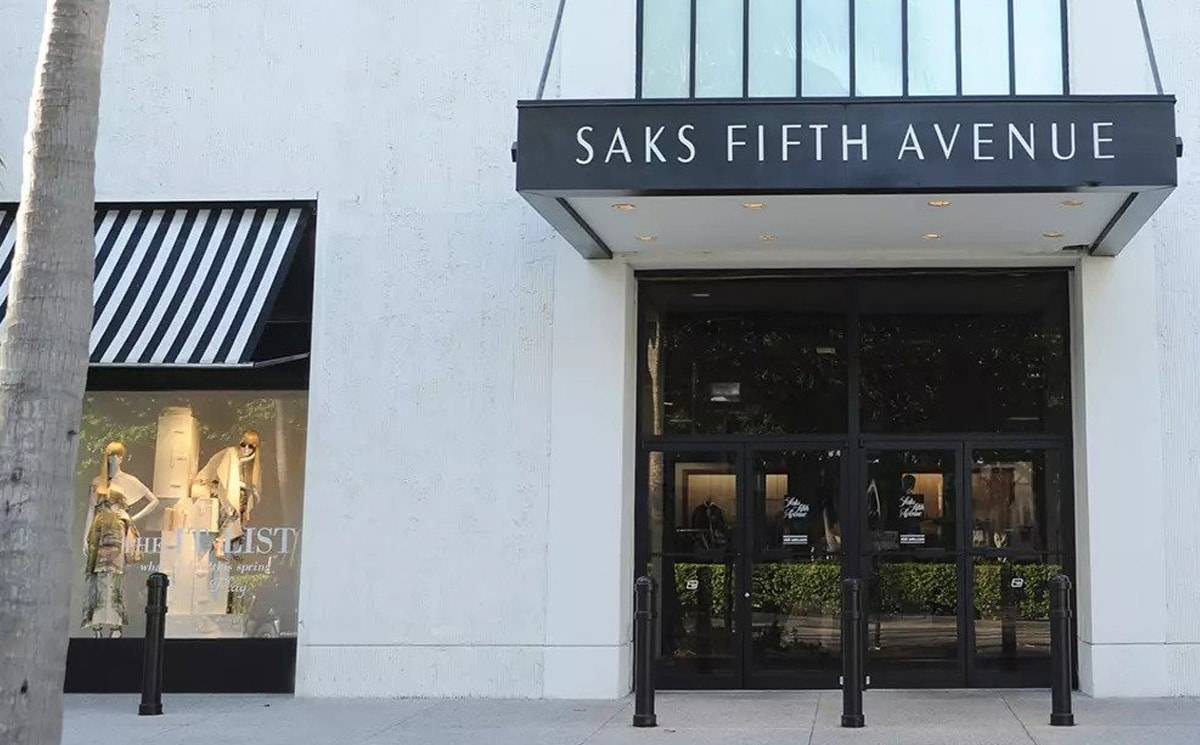 Saks Fifth unveils revamped website with additional features