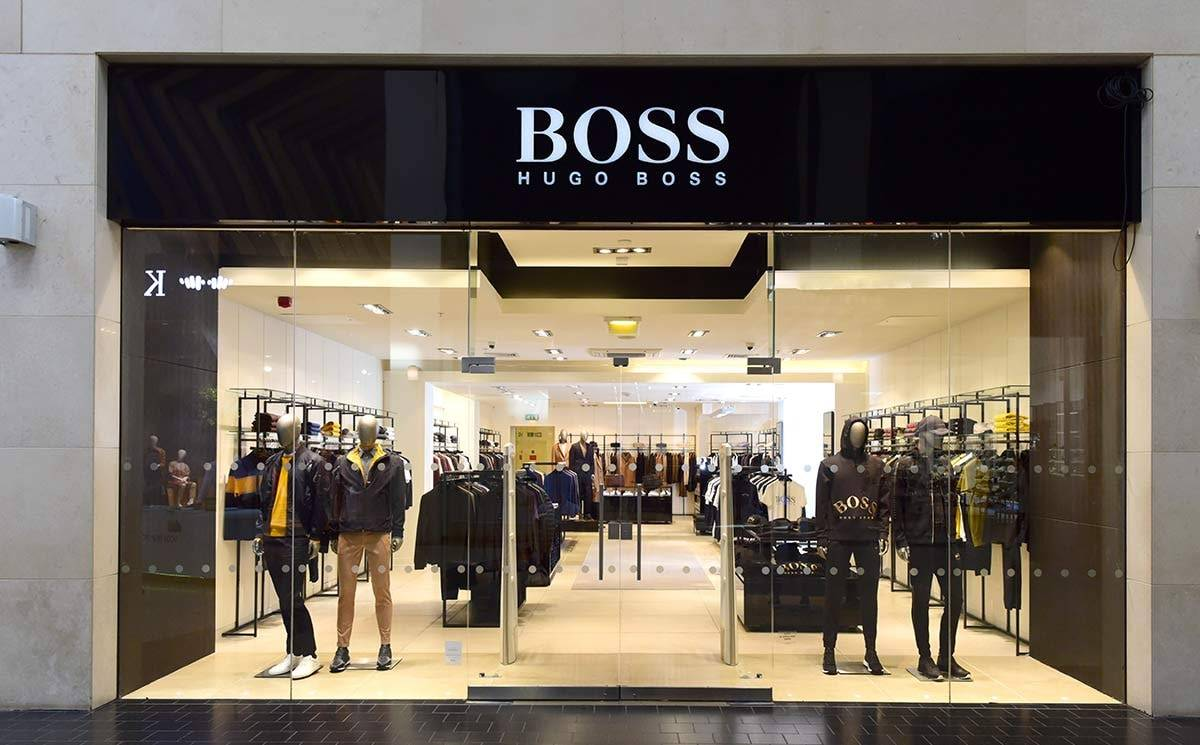Hugo Boss opens store at Silverburn