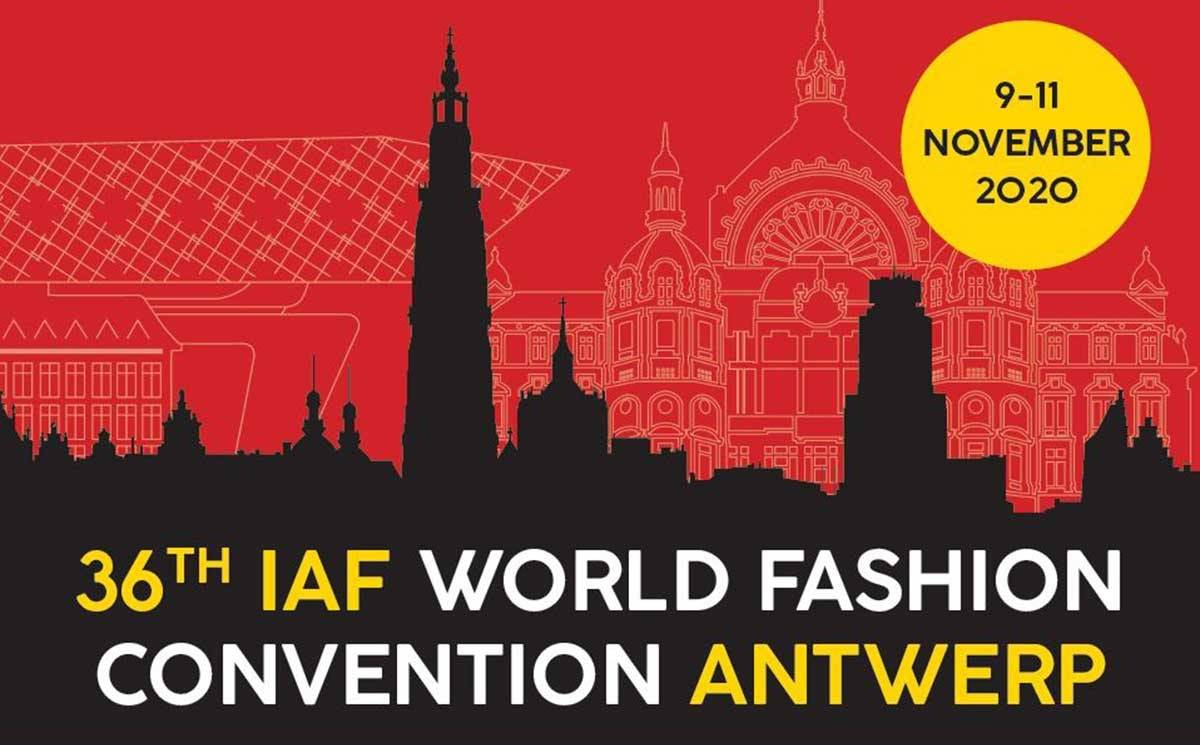 36th IAF World Fashion Convention to be held in Antwerp, Belgium