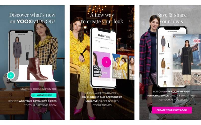 Yoox upgrades AI-powered virtual styling suite