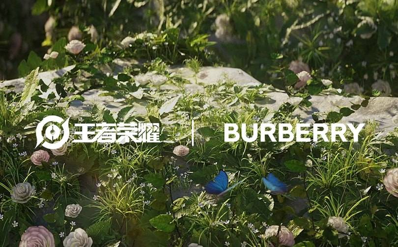 Burberry partners with Tencent's 'Honor of Kings' mobile game
