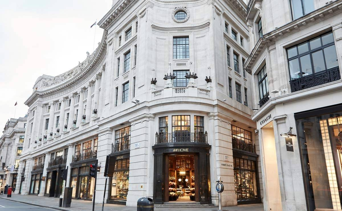 H&M Home concept store lands on Regent Street