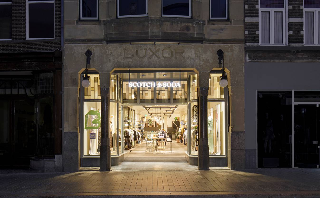 Scotch & Soda opens largest store to date in Den Bosch, the Netherlands