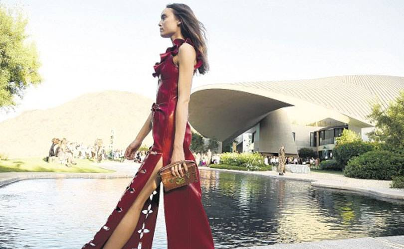 Louis Vuitton shakes things up in Palm Springs