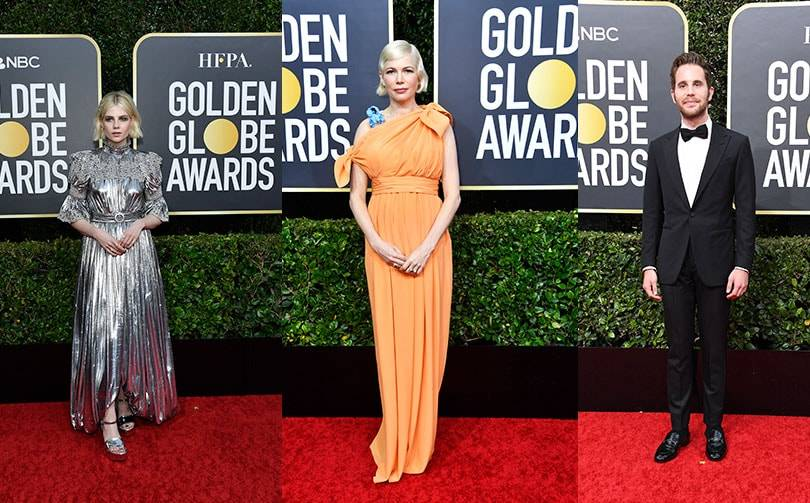 Looks from the 2020 Golden Globes' red carpet