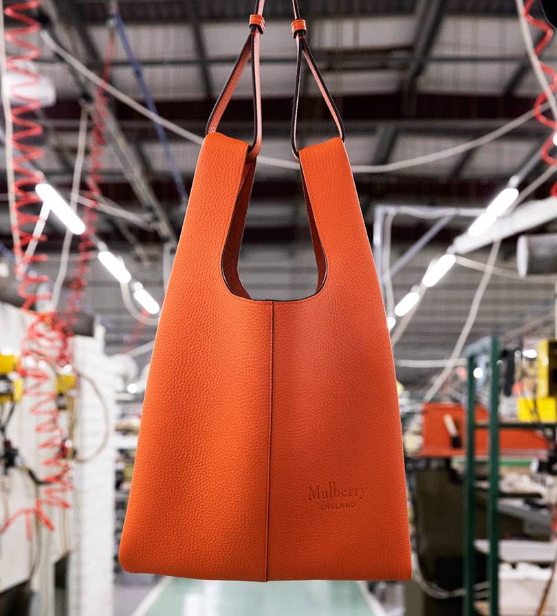 Mulberry launches first fully sustainable bag