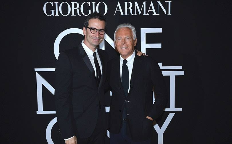 Armani and Yoox Net-a-Porter announce new distribution model