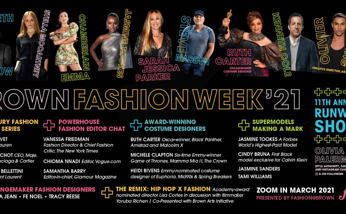 Brown University Fashion Week includes Stella McCartney, Olivier Rousteing, and more