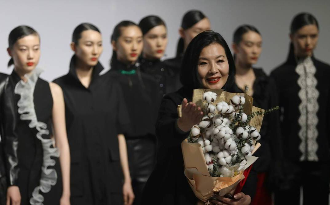 The Xinjiang cotton controversy has taken to the catwalk