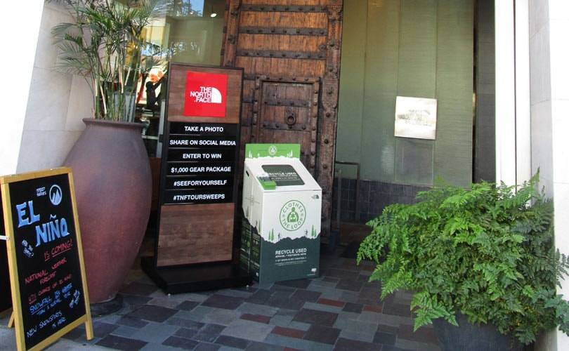 North Face expands recycling initiative