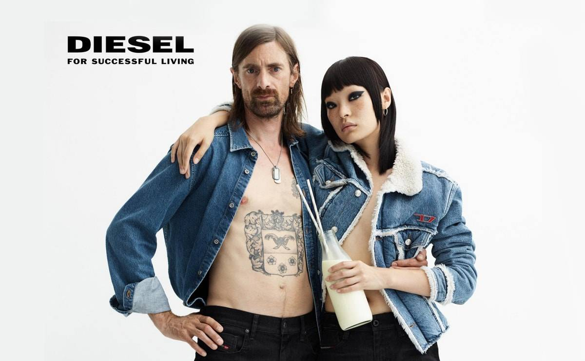 DIESEL Denim For Softies Fall 2019 Campaign