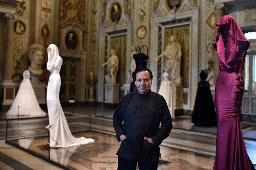Azzedine Alaia's exhibition wins over Rome gallery goers