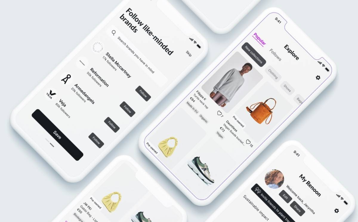 Sustainable fashion platform Renoon launches new site and app