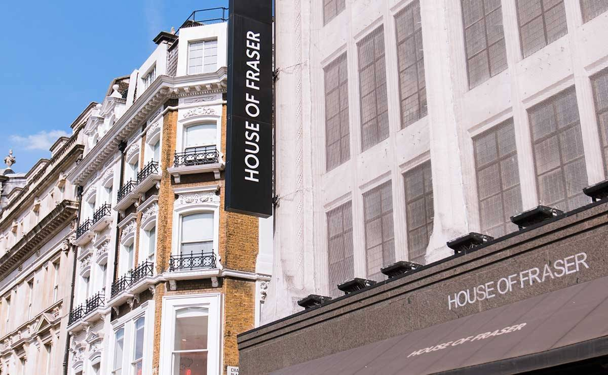 House of Fraser extends administration period by one year