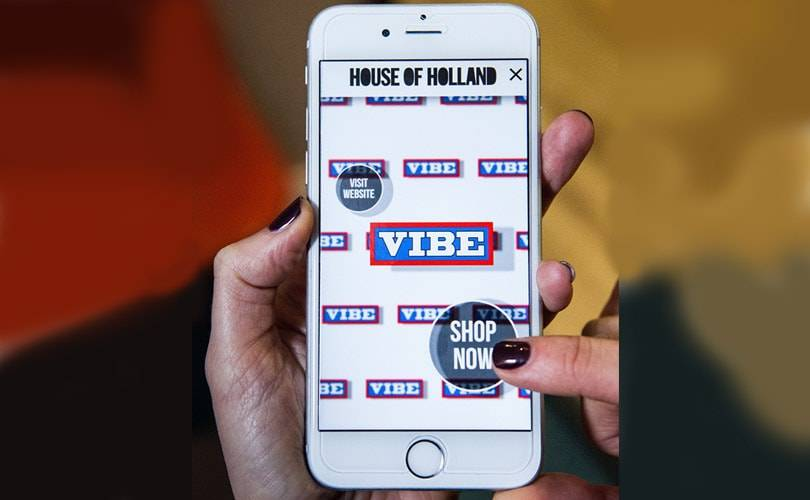 House of Holland showcases new shopping app at LC:M