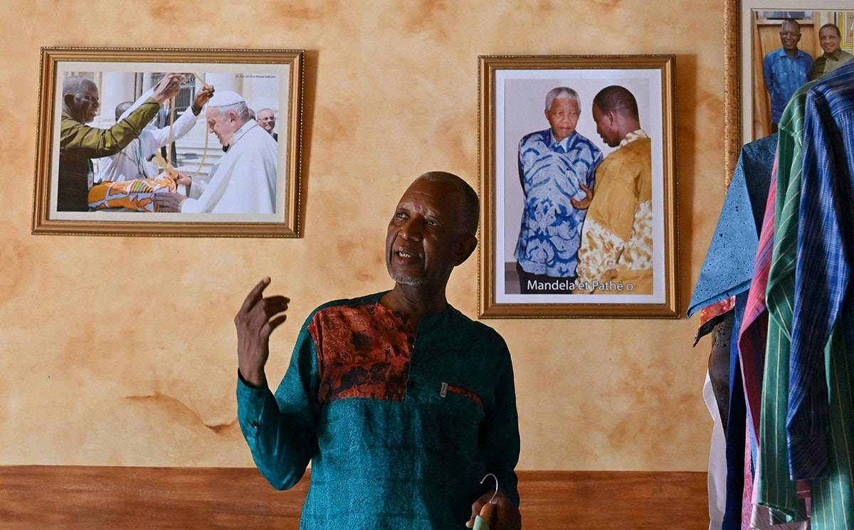 Tailor for Nelson Mandela now on a mission to boost African fashion