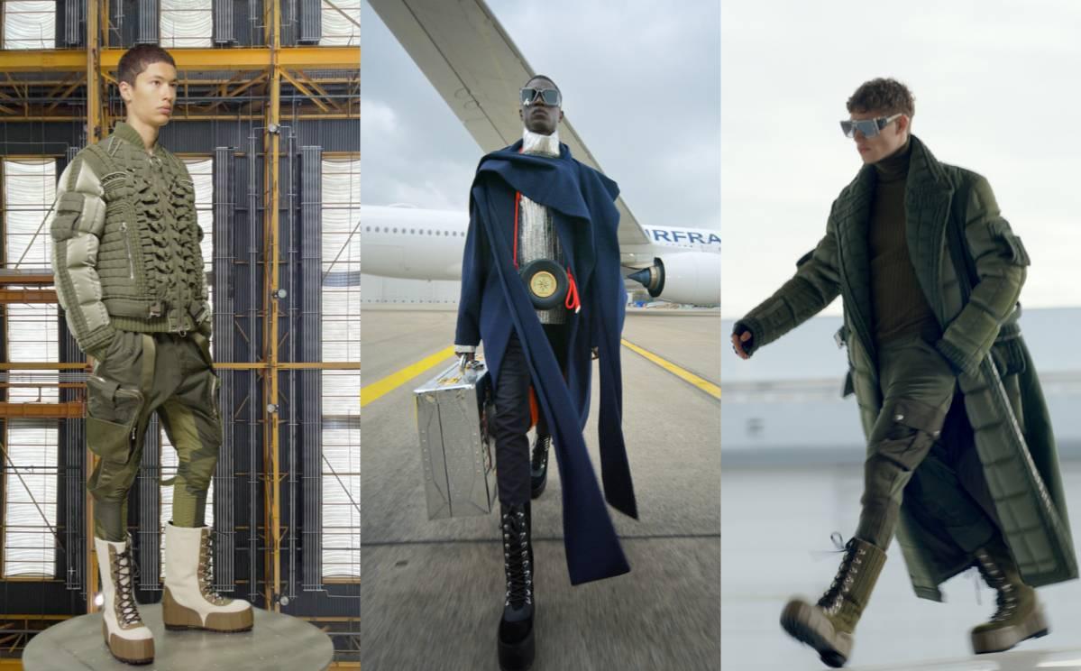 PFW AW21: Balmain showcases an aviation-inspired collection