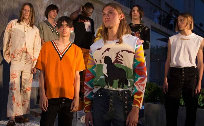 Linder explores acceptance of self and relationships at NYFW: Men's