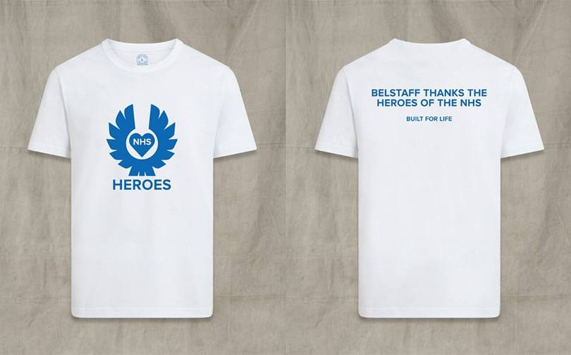 Belstaff launches NHS Heroes charity T-shirt