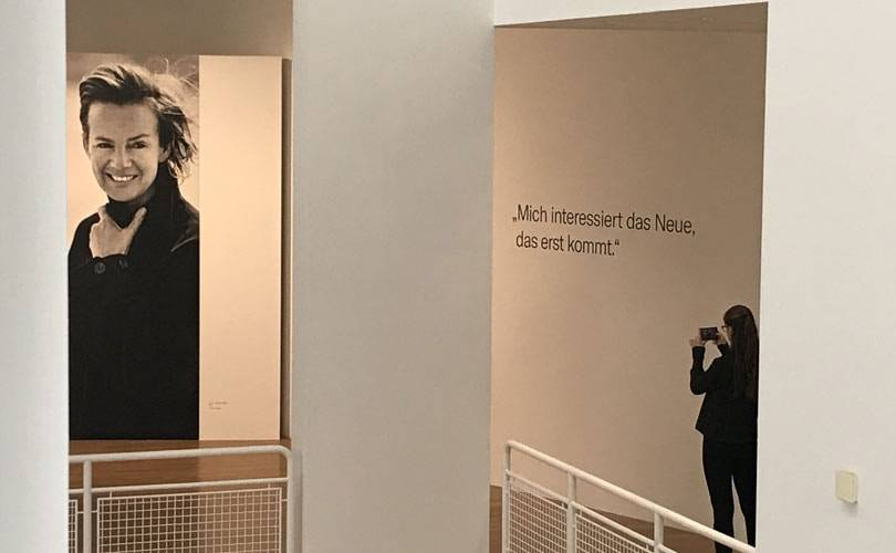 Jil Sander escapes time in Frankfurt exhibition