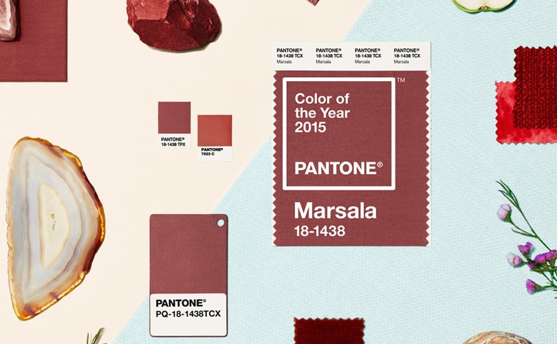 Pantone picks Marsala as colour of 2015