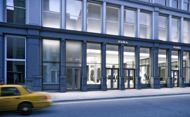 Inditex invests 280 million dollars in new New York Zara flagship