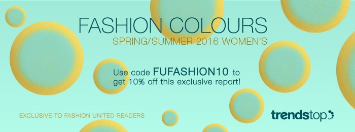 Key Fashion Colour Trend from Spring/Summer 2016