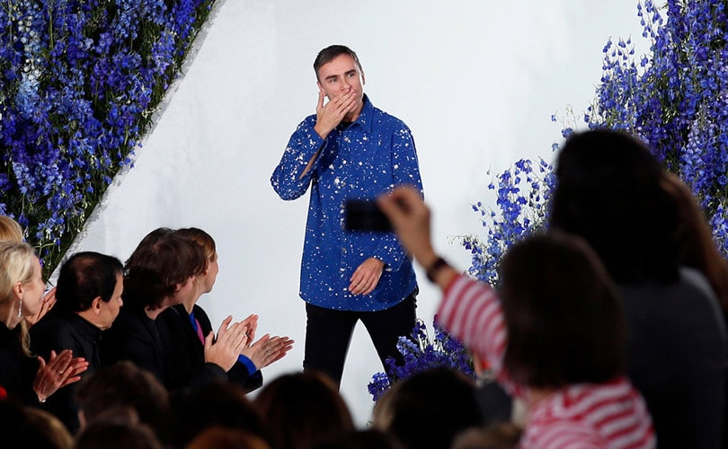 7ca7ea9de32e Raf Simons quits as Dior creative director