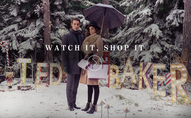 Shoppable video Ted Baker aims to make shopping more fun