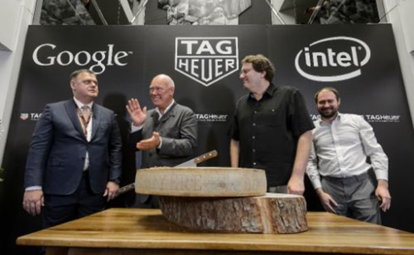 Tag Heuer teams up with Google and Intel to create smartwatch