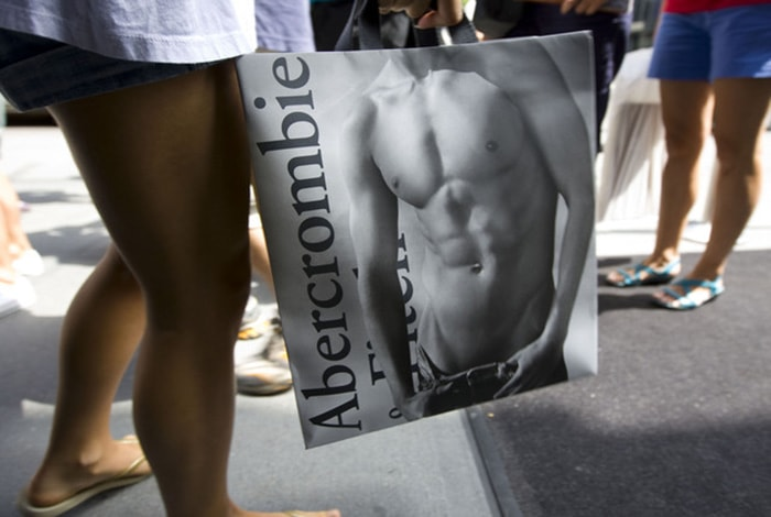 Abercrombie says Goodbye to in-store Abs and over