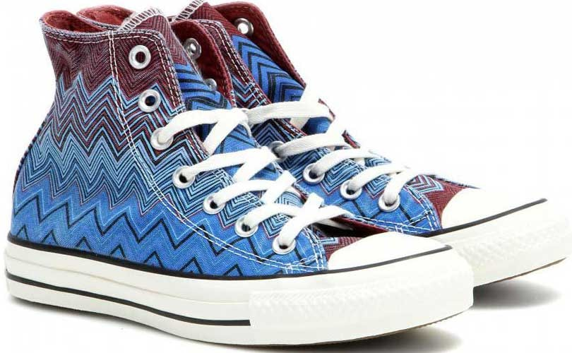 Missoni and Converse launch collaboration