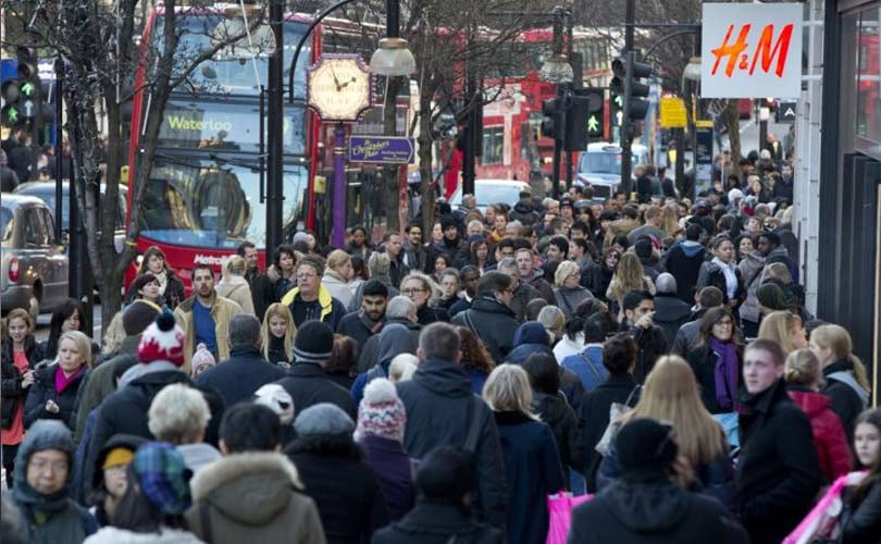 March footfall best figures for a year