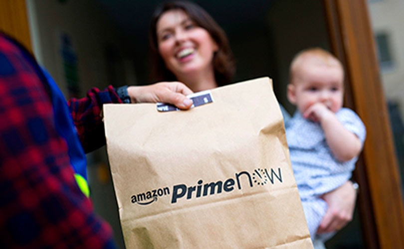 Amazon launches 'Prime Now' with one-hour delivery in London