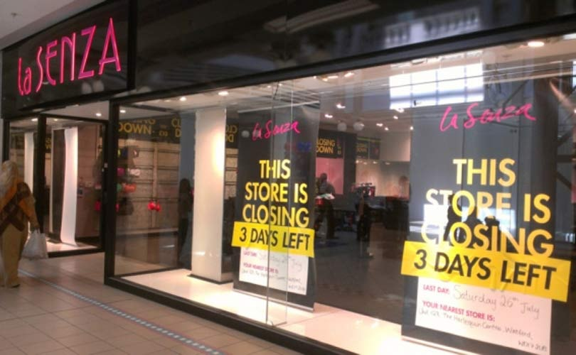 High street administrations led to 735 store closures in 2014