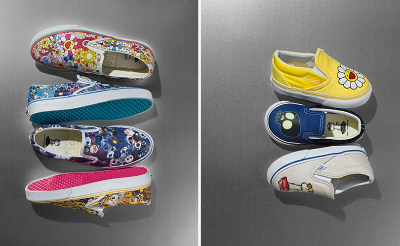 Takashi Murakami collaborates with Vans
