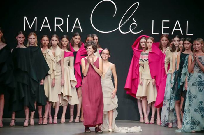 María Clè Leal presents collection during MBFWA