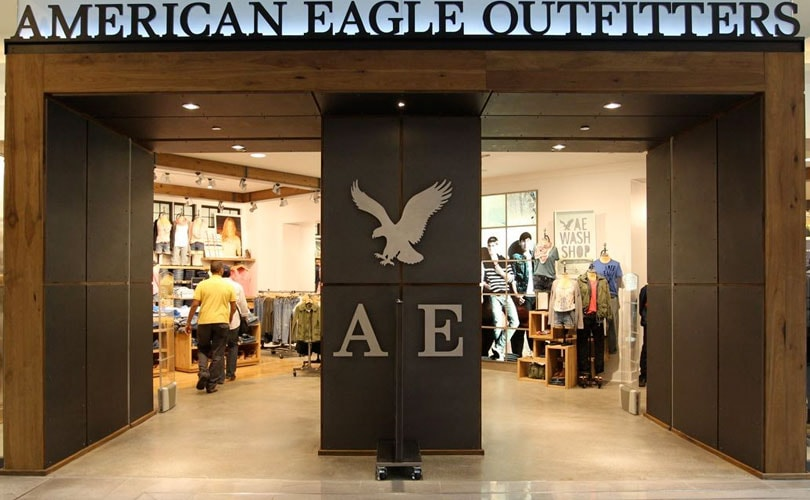 american eagle launches online uk store. Black Bedroom Furniture Sets. Home Design Ideas