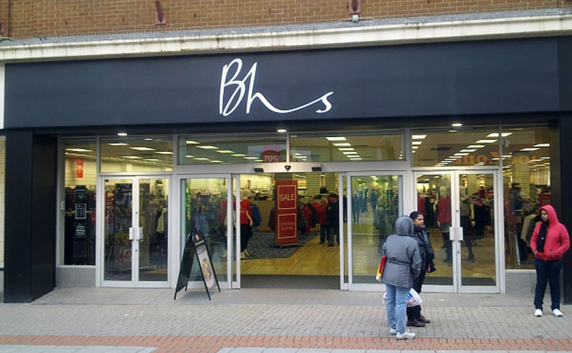 Retail Acquisitions seeks 70 million pounds to revive BHS