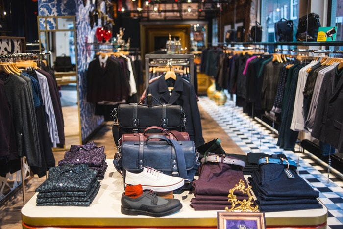 1ed924772 In Picture  Ted Baker debut Amsterdam store