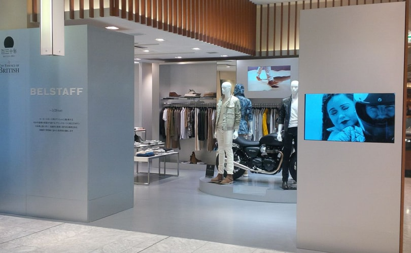 Belstaff opens first store in Japan
