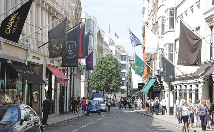 London's West End ranked top retail destination in Europe