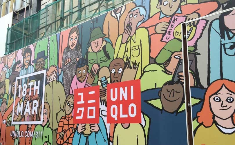 Uniqlo launches London campaign to reopen flagship