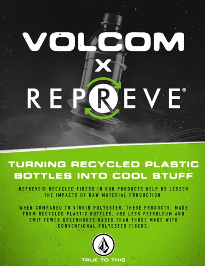 Volcom Mod-Tech boardshorts: now made from recycle bottles