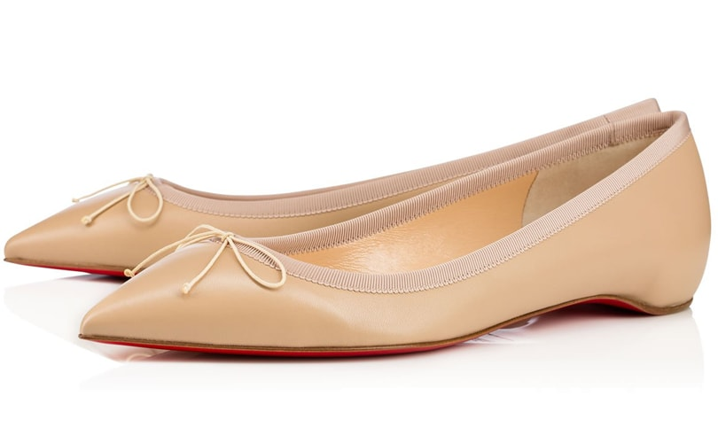 b34f46c44507 Louboutin now offering nude flats