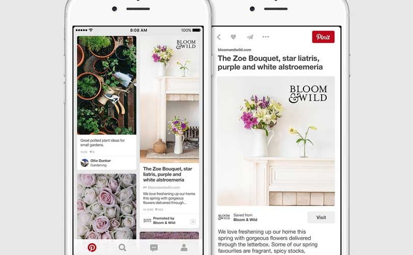 Pinterest launches Promoted Pins in the UK