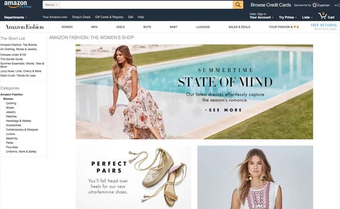 f288390d27b Amazon to become  top US clothing retailer  by 2017