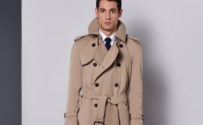 choose authentic 100% satisfaction guarantee up-to-date styling Aquascutum launches the Bogart Trench