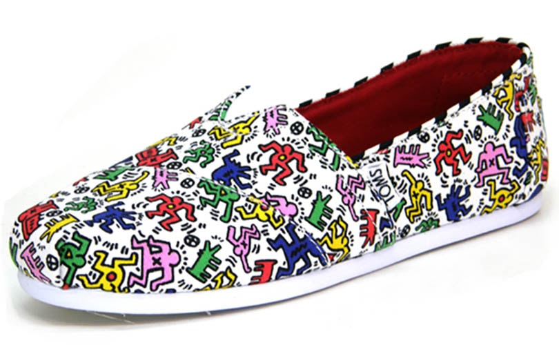 Keith Haring S Famous Designs To Be Featured On Tom Shoes